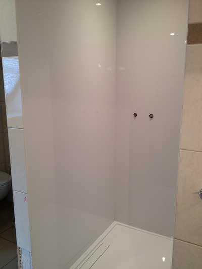 Acrylplaten badkamer